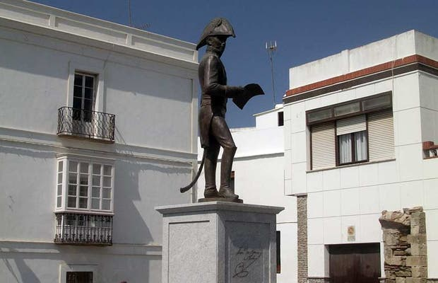Statue of General Copons and Navia