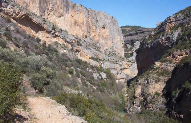 Canyon del fiume Vero