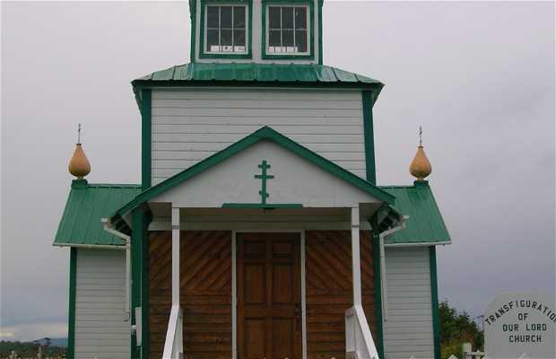 Chiesa Transfiguration of Our Lord a Ninilchik, Alaska