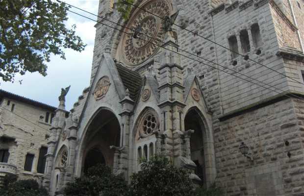 San Bartomeu Soller church
