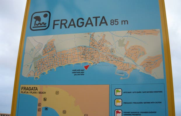 Playa de La Fragata