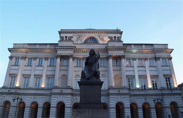 Estatua de Nicolás Copernico