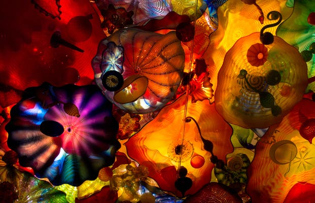 Museu Chihuly Garden and Glass