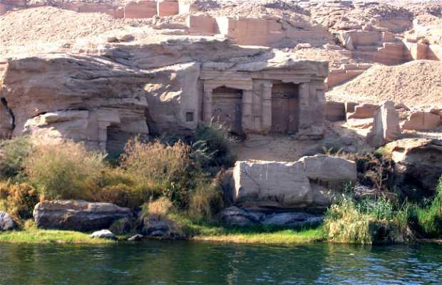 A lo largo del crucero por el Nilo