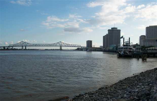 Les rives du Mississipi