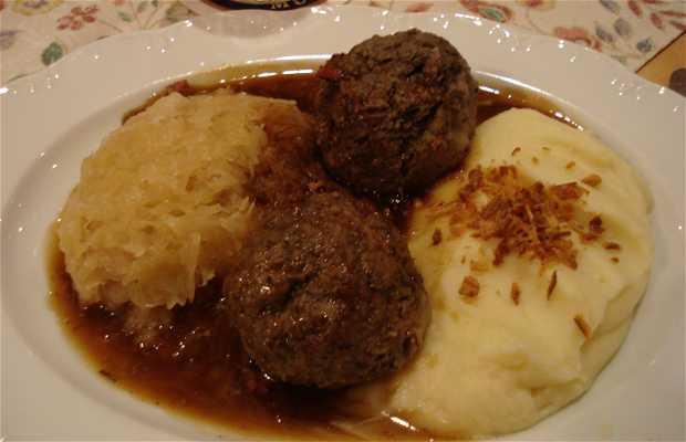 Restaurante de comida típica da Baviera
