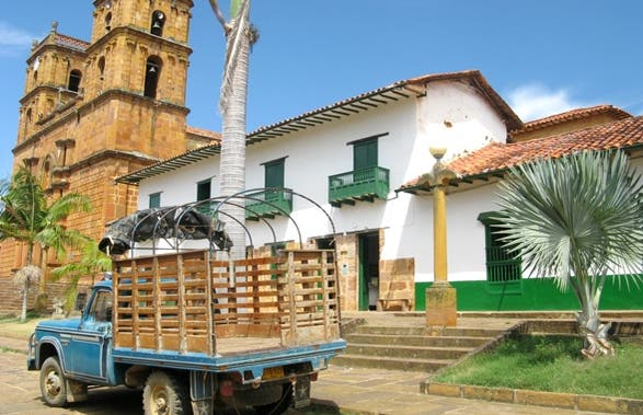 Place Principale de Barichara