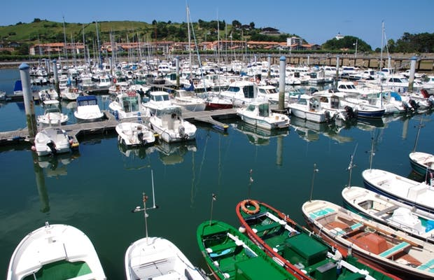 Marina of Zumaia