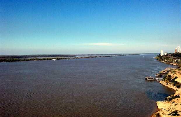 El Paraná desde Ciudad Ribera