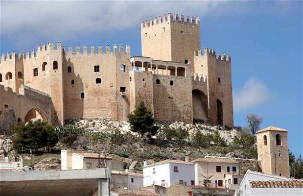 La sierra de María y el castillo de los Vélez