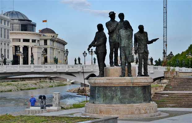 Monumento ai Barcaioli di Salonicco