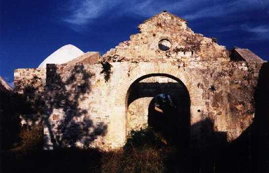 Ruins of San Ambrosio Hermitage