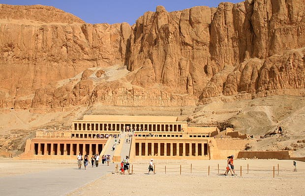 Temple of Queen Hatshepsut, Deir el Bahari.