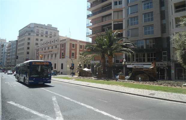 La rambla d'Alicante