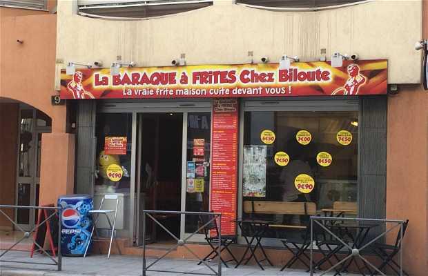 La baraque à frites Chez Biloute
