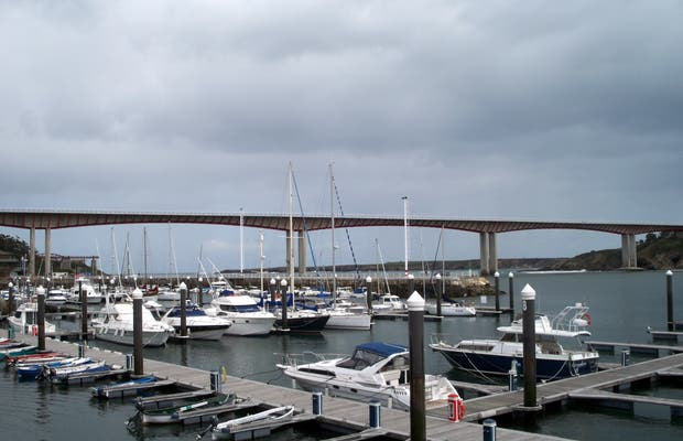 Marina of Ribadeo