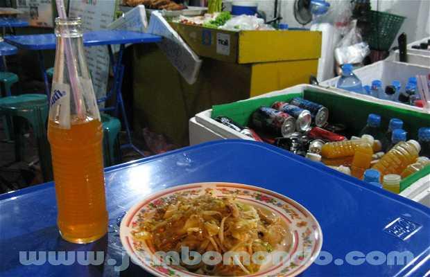 Puestos de comida de Soi Rambuttri