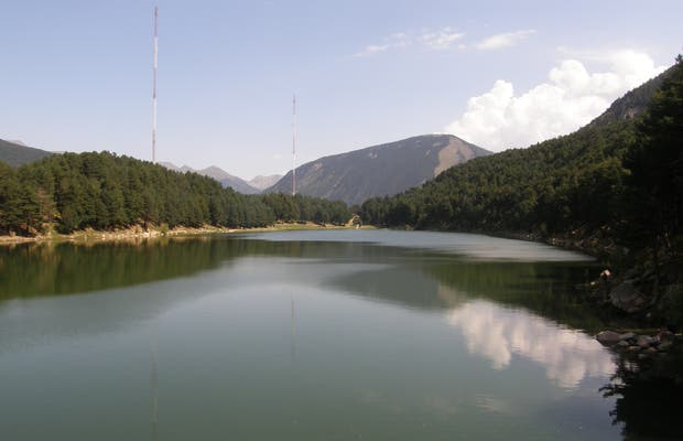 Lac d'Engolasters