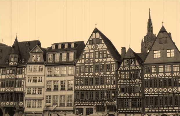Plaza Del Ayuntamiento En Frankfurt