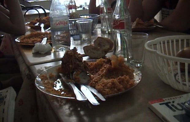 Comida en Sousse