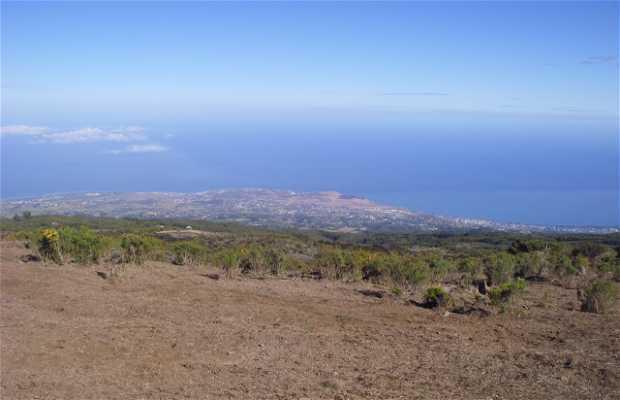 L'île de la Réunion vue du Maïdo