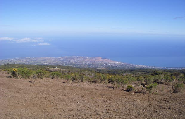 Reunion Island from the maïdo
