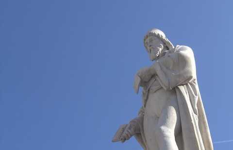 Statua di Panfilo Castaldi