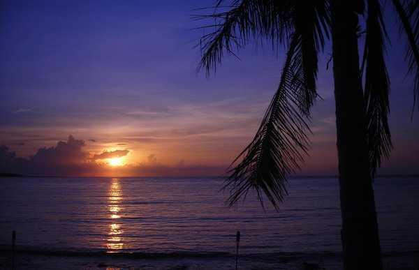 Amanecer en Punta Solyman