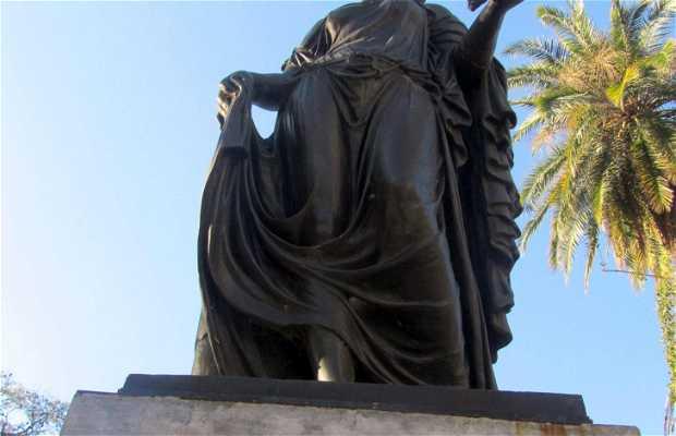 La Diosa Ceres en la Plaza Suecia