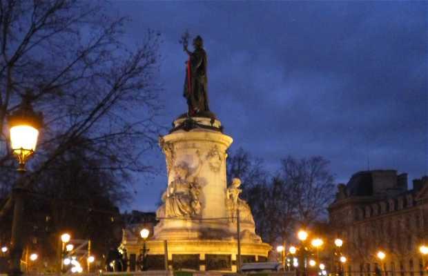 Piazza della Repubblica a Parigi