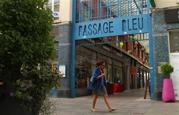 Le Passage bleu